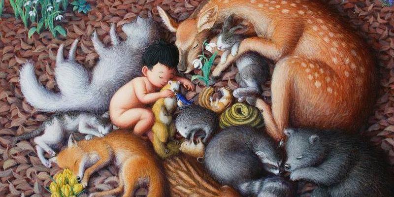 Kunst af Shinya Okayama