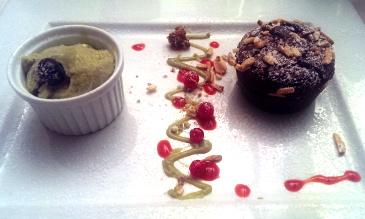 Delikat dessert hos Il Margutta RistorArte