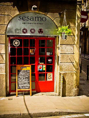 Hyggelig indgang til Sésamo