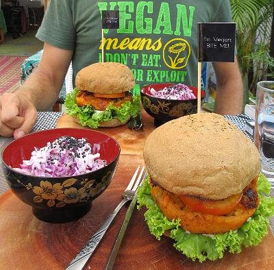 Burger hos Dao of Life - HAPS!