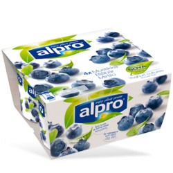 Alpro Bæger Blåbær