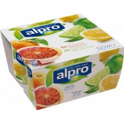 Alpro Bæger Blodappelsin Citron Lime