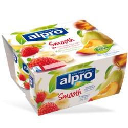 Alpro Bæger Fersken Pære - Jordbær Banan