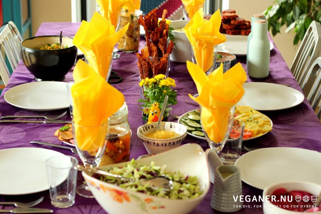 Veganer.nu-Lækon-Læcon-Vegansk-Bacon-Rispapirsbacon-rice-paper-bacon-Påske-Påskebord-Easter