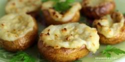 Gorgonzolafyldte kartofler
