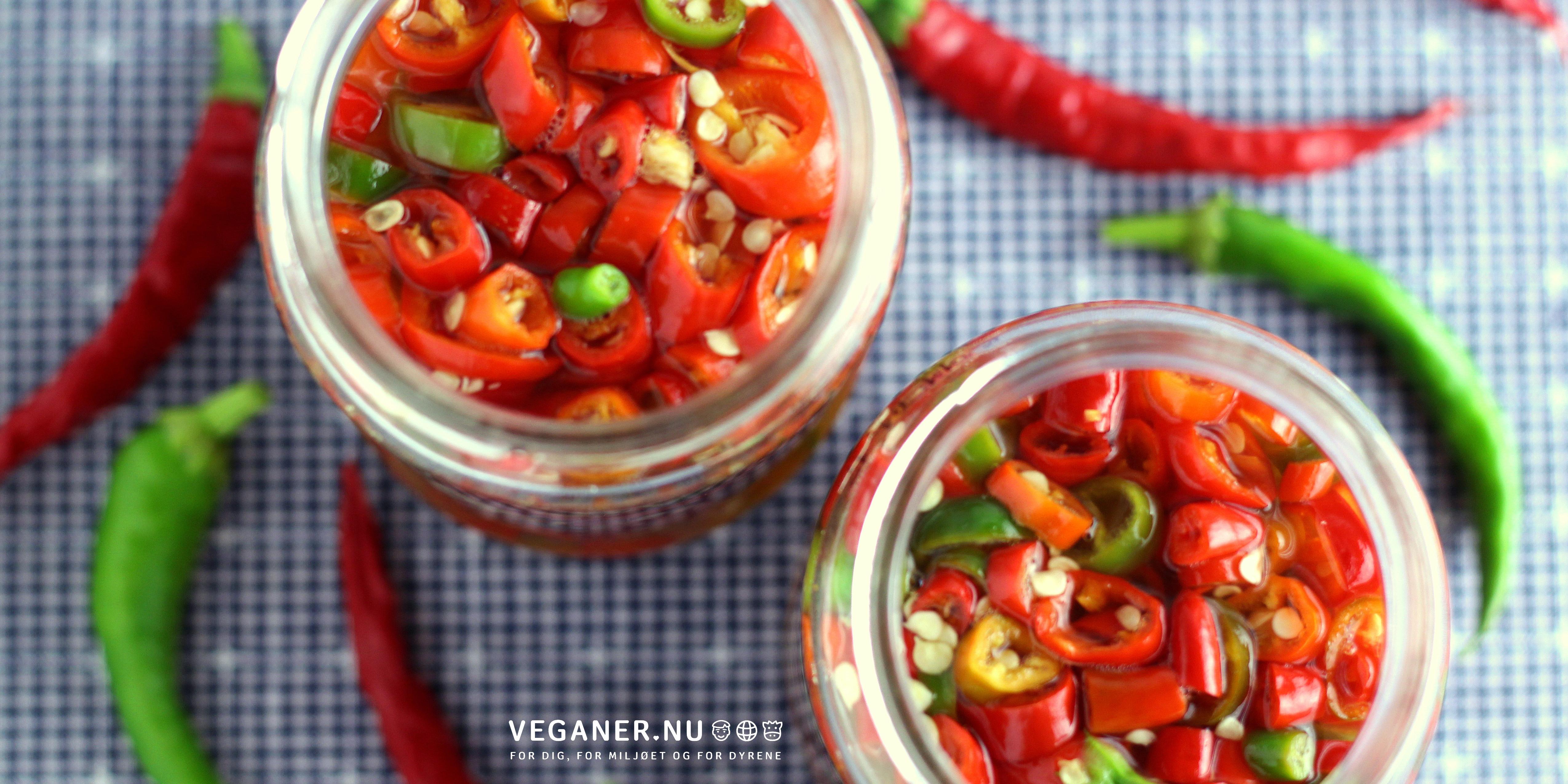 Syltet chili