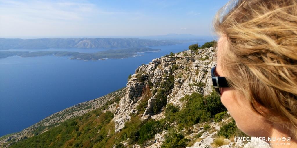 Smuk, kroatisk udsigt