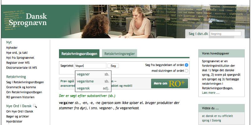 dansk retskrivningsordbog 2016