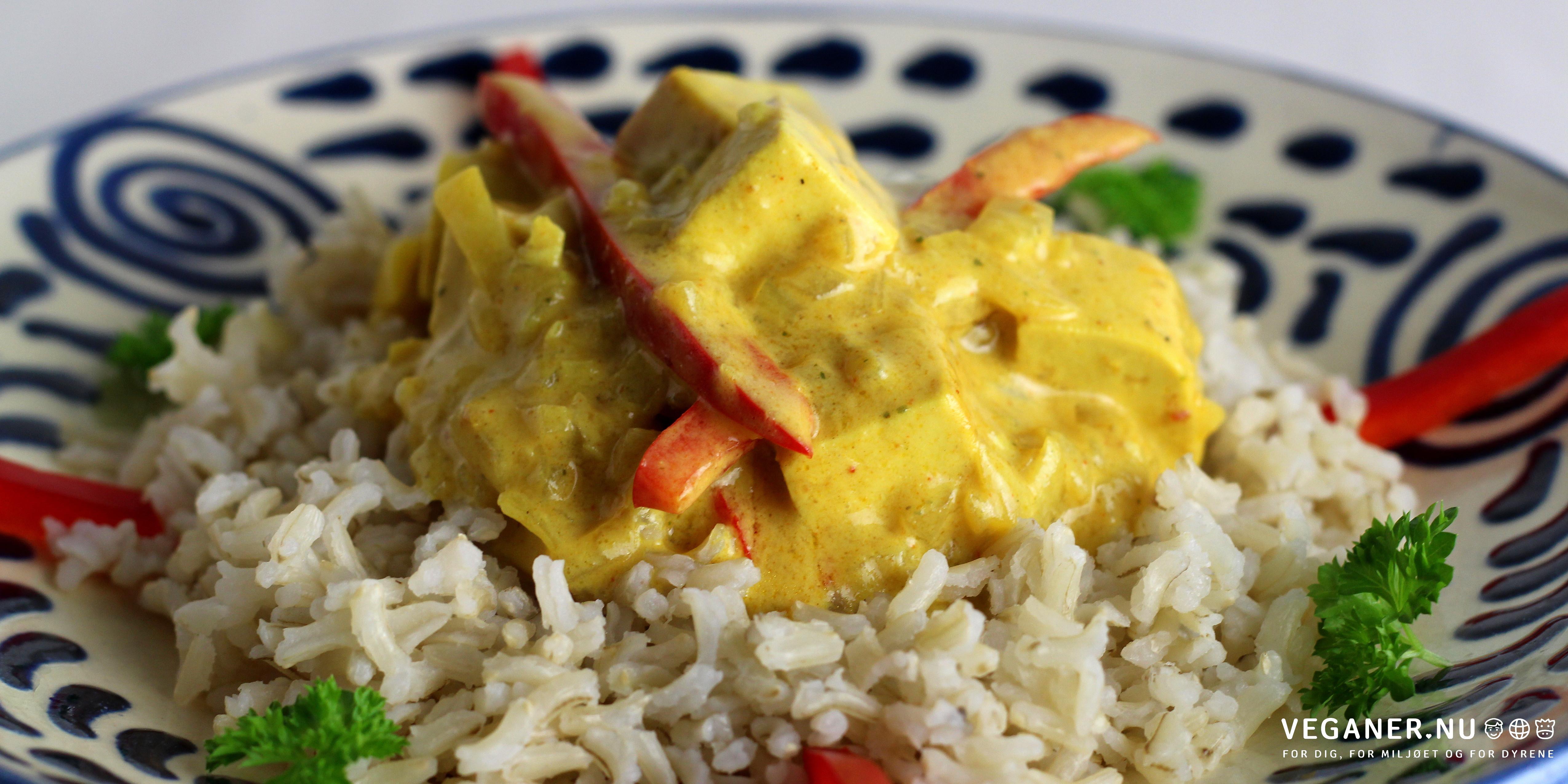 Tofu i karry
