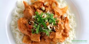 Indisk tofu i krydret sauce