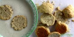 Grove kammerjunkere med grahamsmel og vanille