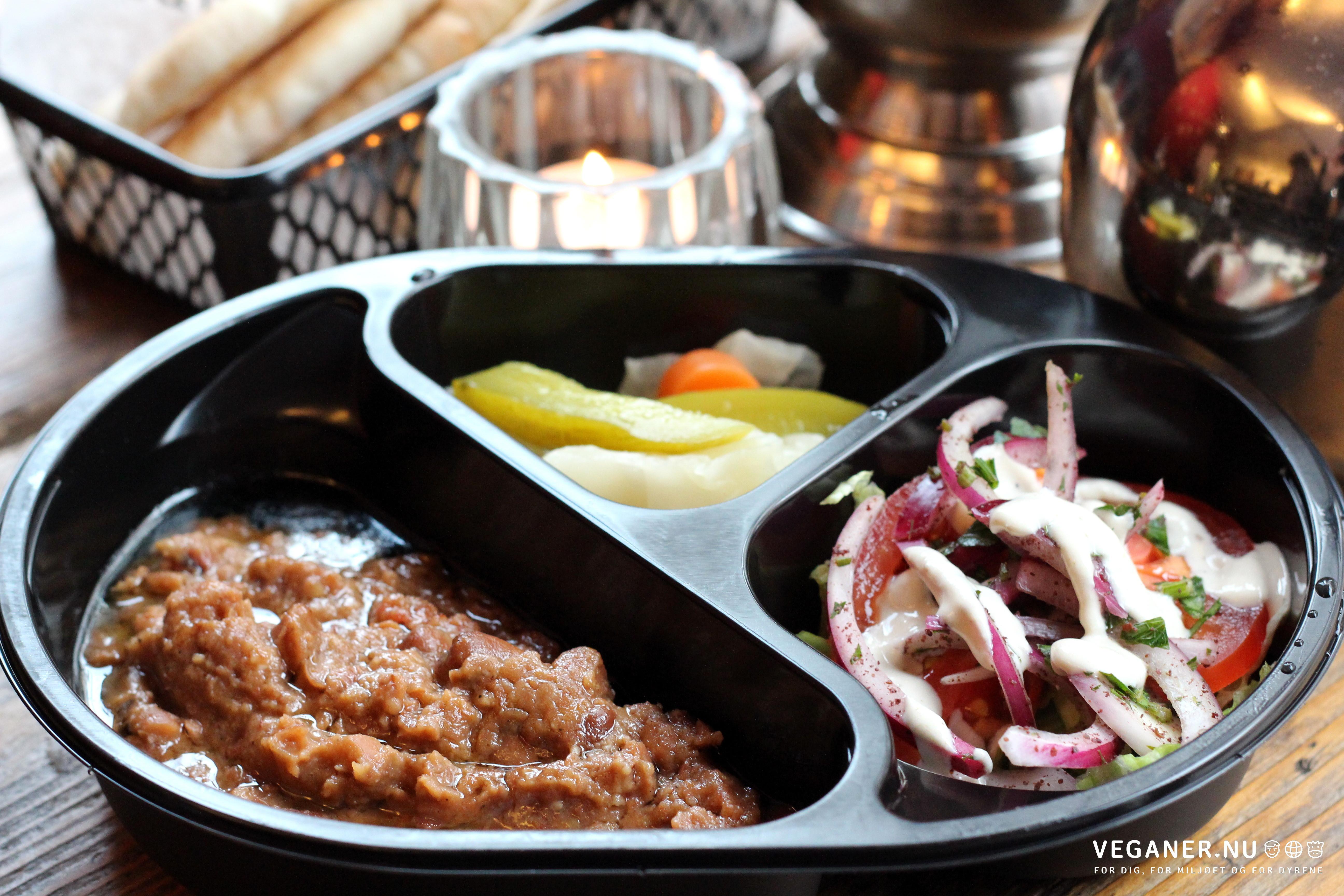 Koshari - egyptisk vegetarisk streetfood (København) - Veganer.nu
