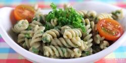 Pasta med grønkål og ostesauce